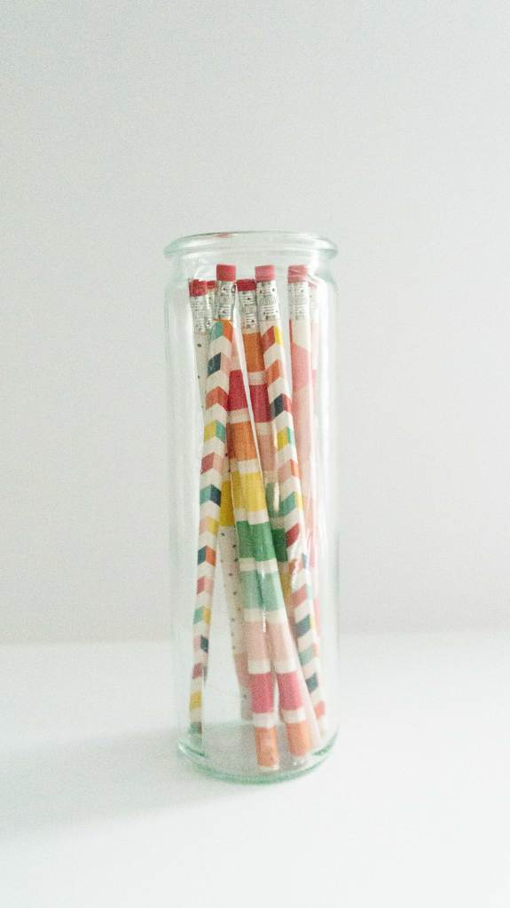 Pencils: In A Jar