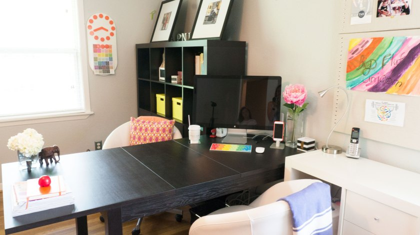 To Be Simply Happy: The Productive Home Office