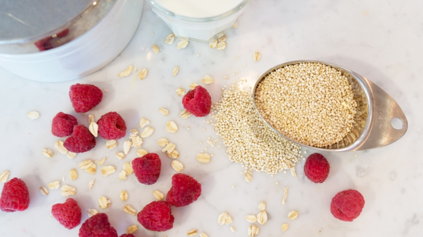 To Be Simply Happy: Quinoa For Breakfast Please