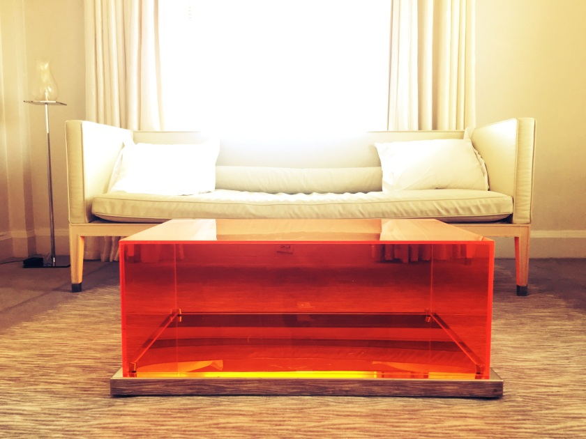 Clift Hotel Sofa