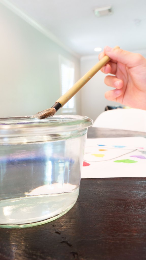 To Be Simply Happy: Water Color Art Project