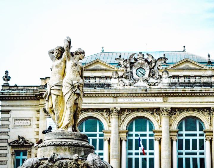 You'll know you're in the center of the city's energy when you are at the Opera House, which also has a beautiful fountain statue welcoming you outside the building! Here you will find the street lined with many outdoor restaurants, cafes, and shopping!