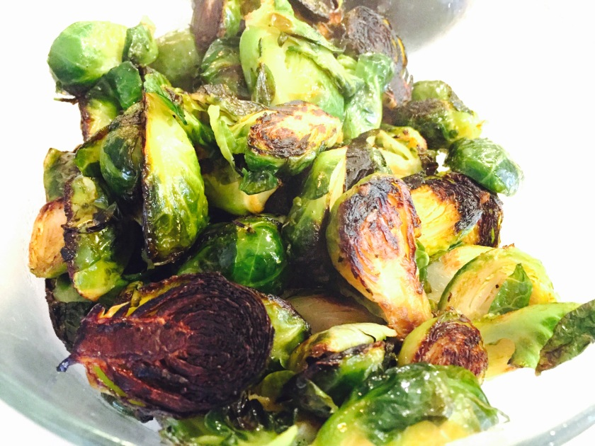 Browned Brussel Sprouts