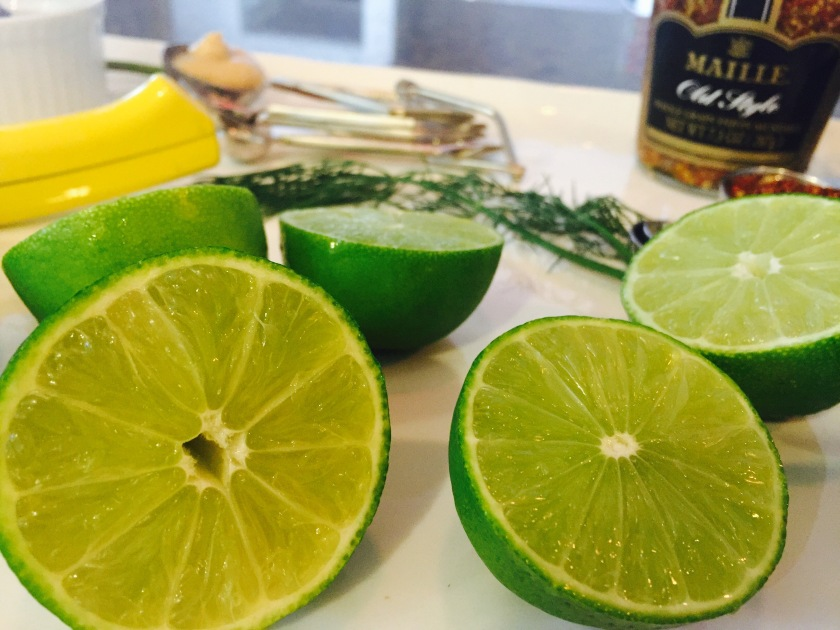 Salmon Sashimi Tatar Ingredients-Lemon