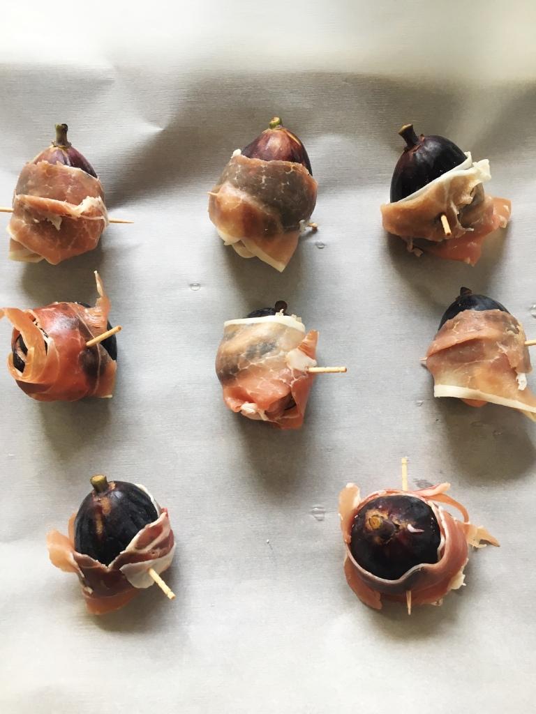 Figs Wrapped in Prosciutto