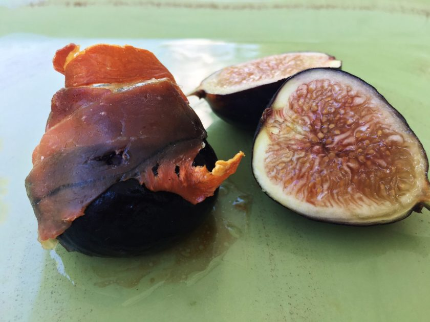 Figs Wrapped in Prosciutto