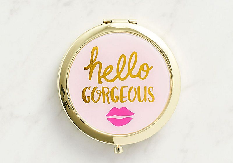 Hello Gorgeous Purse Mirror From The Paper Source $9.95