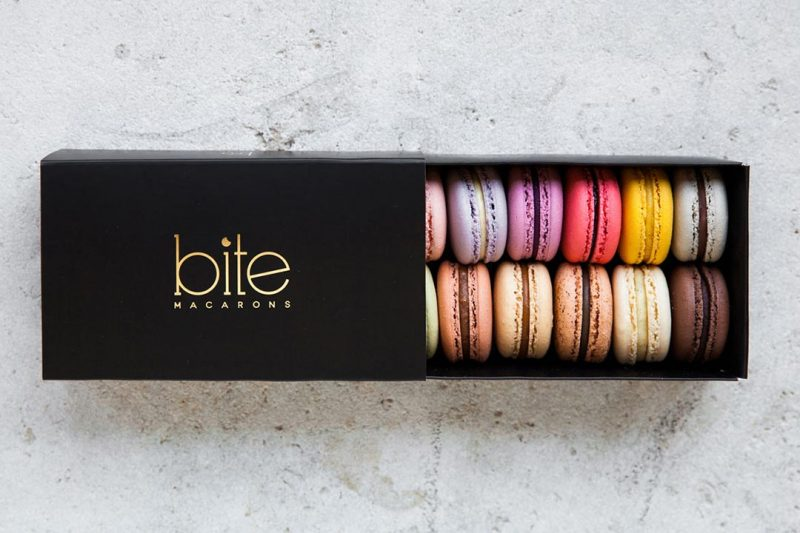 Treat her sweet tooth with a box of macarons from bite MACARONS $25