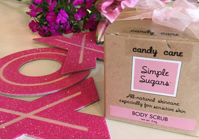 Simple Sugars Body Scrub from Thinking Girls Boutique $16