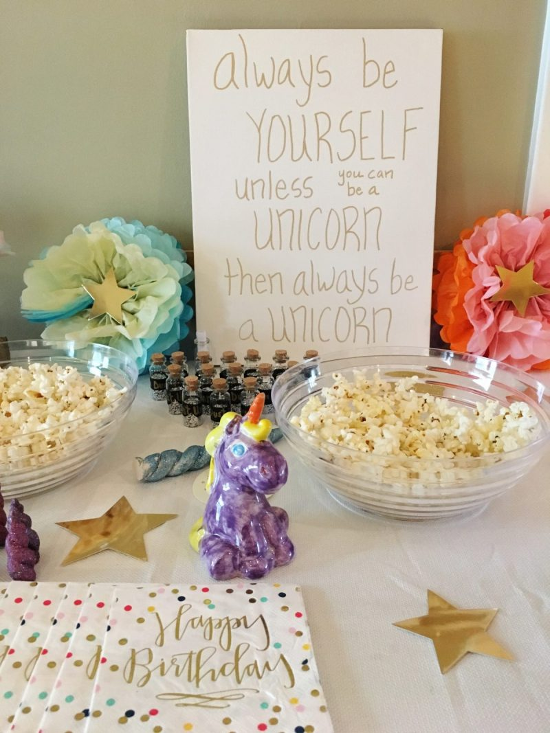 To Be Simply Happy: Unicorn Party