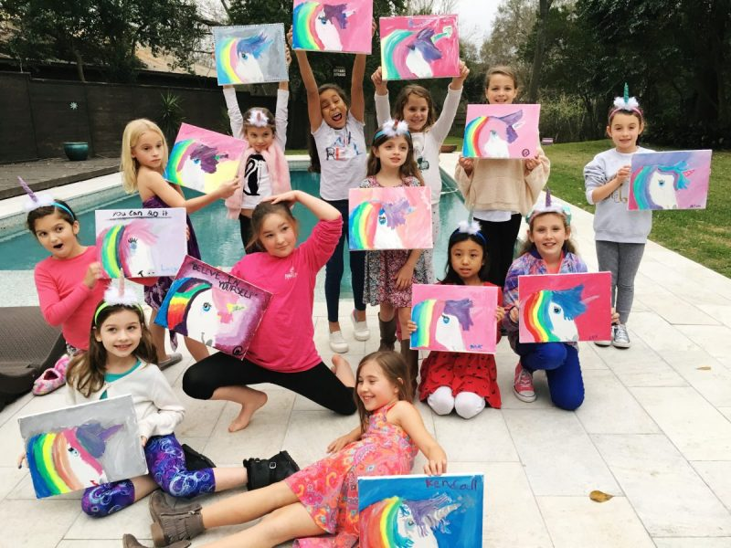 TBSH: Unicorn Painting Party