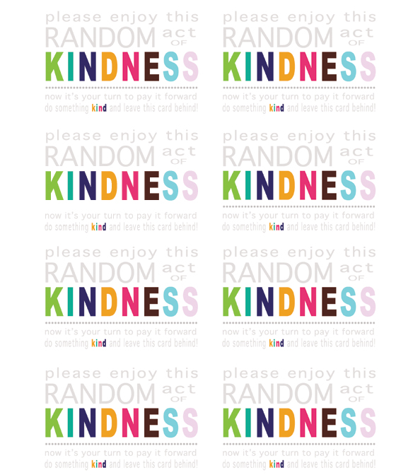 Random Acts of Kindness Week: Let's All Spread Some ...